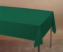 Creative Converting 723124 Hunter Green Plastic 54x108 Tablecover (Case of 12)