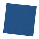 Creative Converting 801137B Navy 2-Ply Beverage Napkins (Case of 600)