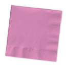 Creative Converting 803042B Candy Pink Beverage Napkin, 2 Ply, Solid (Case of 600)