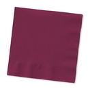 Creative Converting 803122B Burgundy Beverage Napkin, 2 Ply, Solid (Case of 600)