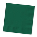 Creative Converting 803124B Hunter Green Beverage Napkin, 2 Ply, Solid (Case of 600)