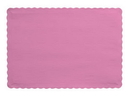 Creative Converting 863042B Candy Pink Placemat, 9.5 X 13.375 Solid (Case of 600)
