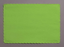 Creative Converting 863123B Fresh Lime Placemat, 9.5 X 13.375 Solid (Case of 600)