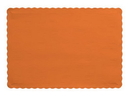Creative Converting 863282B Sunkissed Orange Placemat, 9.5 X 13.375 Solid (Case of 600)
