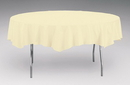 Creative Converting 923264 Ivory Tissue/Poly Tablecover 82