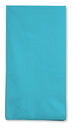 Creative Converting 951039 Bermuda Blue 3-Ply Guest Napkins (Case of 192)