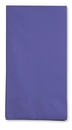 Creative Converting 95115 Purple 3-Ply Guest Napkins (Case of 192)