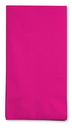 Creative Converting 95177 Hot Magenta 3-Ply Guest Napkins (Case of 192)