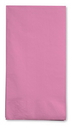 Creative Converting 953042 Candy Pink 3-Ply Guest Napkins (Case of 192)