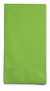 Creative Converting 953123 Fresh Lime Guest Towel, 3 Ply, Solid (Case of 192)