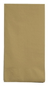 Creative Converting 953276 Glittering Gold Guest Towel, 3 Ply, Solid (Case of 192)