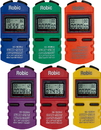 Robic 87939 SC-505W 12 Memory Chrono 6-Pk Assortment
