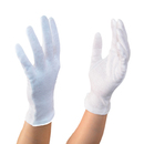 Aspire 12 Pairs White Inspection Cotton Lisle Gloves Coin Jewelry Silver Handling Glove