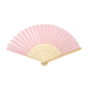 Aspire Silk Hand Fans, Folding Fans for Wedding Favors, 8 1/4 Inch x 15 Inch