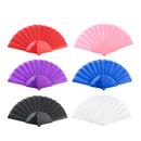 Aspire Plastic Spanish Folding Fans, Performance Folding Fan / Dancing Fan, Party Decoration