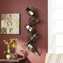 Holly & Martin 93-244-062-3-12 Vallejo Wall Mount Wine Storage Unit