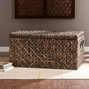 SEI CK0126 Water Hyacinth Storage Trunk - Blackwashed