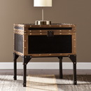 SEI CK3182 Drifton Travel Trunk End Table
