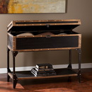 SEI CK3183 Drifton Travel Trunk Console Table