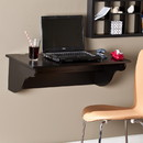 SEI HO8307 Barrie Wall Mount Desk Ledge - Black