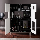 SEI HZ1032 Shadowbox Wine/Bar Cabinet