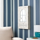 SEI JS5532 Gilmore Shabby Chic Wall Mount Jewelry Mirror