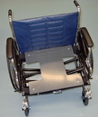 Safe•t mate SM-017 Wheelchair Heavy Duty Solid Drop Seat