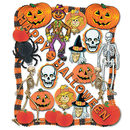 Halloween Decorating Kit - 25 Pcs