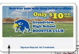 "Full-Color Membership Cards, 3 3/8"" x 2 1/8"", 4 Color Process, Price/piece"