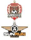 Custom Struck Single Sided 2D Medal (3