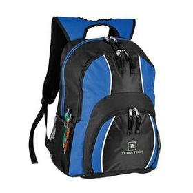 "Goodhope Bags Ultimate 17"" Computer Backpack, Made Of 600D Polyester With 420D Jacquard Trims, 14"" L X 19"" H X 6 1/2"" D, Price/piece"