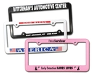 Custom License Plate Frame w/ 4 Holes - Full Color Digital