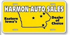 "Standard License Plates-.035"" Earth Friendly White Polyethylene, Price/piece"