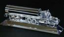 Custom Oil Truck Award on a Crystal Base - Optic Crystal (2 3/16