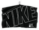 Custom Nike Face/ Club&#174 Jacquard Towel (Black/ White)