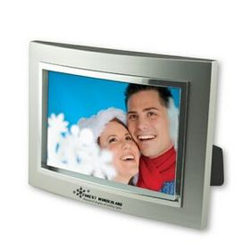 "4""x 6"" Metalized Plastic Curved Picture Frame, Price/piece"