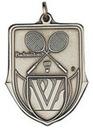 Custom 100 Series Stock Medal (Badminton) Gold, Silver, Bronze