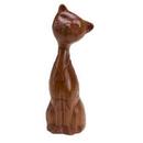 Custom Wooden Cat Puzzle - Screened, 4 3/4