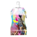 Custom Full Color Wave Collapsible Water Bottle - 16.9 Oz., 4.75