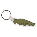 Custom Alligator Animal Key Tag