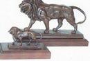Barye Lion Sculpture (11