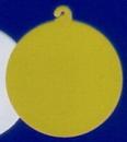Custom White Hook Medallion For Hawaiian Necklace