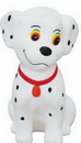 Custom Rubber Dalmatian Dog Bank