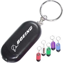 Custom Oval 2-in-1 Flash Light and Compass Keychain