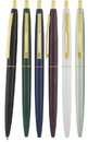 Custom Seville G Retractable Ballpoint Pen with Gold Trim