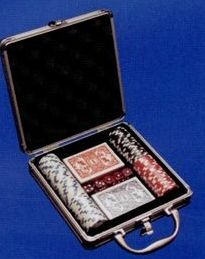 Poker Set In Stainless Case, Price/piece