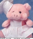 Custom Medium Chef Uniform Stuffed Animal Accessory