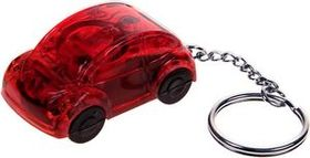 Car Shape Flashlight Keychain W/ Super Bright Headlights, Price/piece