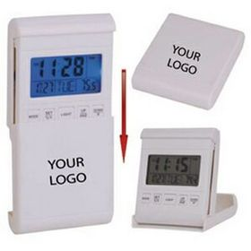Travel Alarm Clock W/LED Back Light, Price/piece