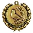 Custom Stock Bird Medal w/ Wreath Edge (1 1/2